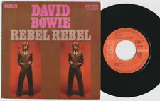 David BOWIE * Rebel Rebel * 1974 French Only PS * GLAM 45 *