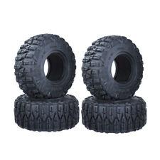 "4pcs 2.2"" 120mm Rc Rock Crawler Rubber Tires Tyre 1/10 For TRX6 TRX4 SCX10 90046"