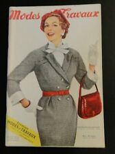 Magazine Modes & Travaux Mars 1955 complet