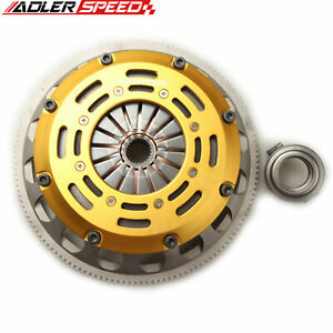 ADLERSPEED Race Clutch Twin Disc Kit For 02-06 Mini Cooper S R52 R53 1.6L 6Speed