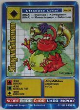 SHOGUNGEKOMON DIGIMON BO-08 1st EDITION CARD                  (INV10788)