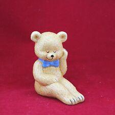 "Danbury Mint Teddy Bears Figurine Collection ""Snoozy Bear"" Fine Bone China"