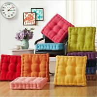 SOFT SEAT BOOSTER SQUARE CUSHION PADS THICK ADULTS CHAIR GARDEN ARMCHAIR 8cm