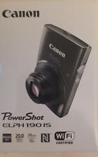 Canon Powershot Elph 190 IS (Black) *BRAND NEW* / NEVER OPENED