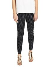 Phase Eight Libby Spot Print Trousers, Navy/Ivory UK-18 RRP £69