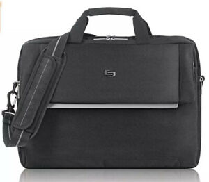 Solo New York Chrysler Laptop Notebook Briefcase, Black Fast Free Shipping