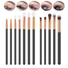 12tlg Professionelle Kosmetik Pinsel-Set Make up Brush Kit Eyeliner Lidschatten