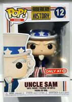 Funko pop american history uncle sam figura figure exclusive toy toys only at