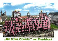 """AK, Magdeburg, """"Die güne Zitadelle"""", Gesamtansicht, um 2008"""