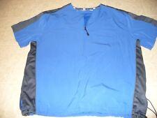 Demarini  BP Size S blue short sleeve net lined men's baseball jacket