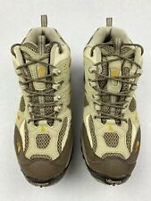 The North Face Vibram Womens Hiking Boots Size 7.5 tan