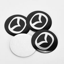 4Pcs 56.5mm Car Wheel Center Stickers Hub caps Emblem Cover Fit for Mazda