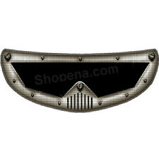 Dr. Doom A Hard Head Helmet Visor Sticker Motorcycle Shield Decal Tint Eyes NEW+