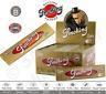 Smoking Gold King Size Slim Lunghe Oro Scatola Da 50 / 25 Libretti 33 Cartine