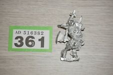 Warhammer Fantasy Chaos Beastmen Lord with Great Weapon - Metal LOT 361