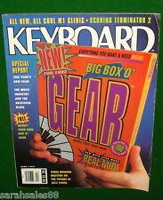 1992 KORG M1 Clinic, LINTRONICS LAMM, Scoring Terminator 2, Keyboard Magazine