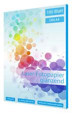 100 Blatt Fotopapier für Laser Drucker DIN A4 160g glossy 2-seitig beschichtet