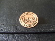 Pin Lanz Bulldog Emblem Kupfer Trecker Traktor - 2,5  cm