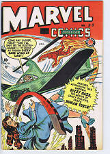 Marvel Mystery Comics #90 Bell Features 1949 CANADIAN EDITION