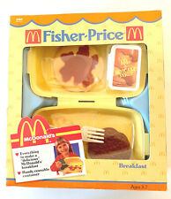 1988 Fisher Price McDonald's Play Food Breakfast - New In Sealed Box