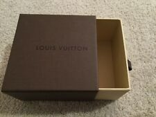 Louis Vuitton Brown Pull-Out Drawer Gift Box. Empty. 5.5�x3.5�x1�. New.