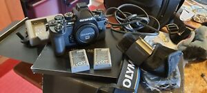 Olympus om-d e-m1 Body Only, Boxed Spare battery. VGC.