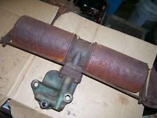 Vintage Oliver 77 Diesel Row Crop Tractor Engine Oil Filter Base Assembly