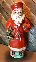 Antique Belsnickle Santa Paper Mache Candy Container Early 1900's Germany
