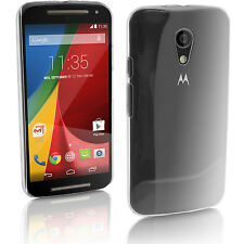 Claro Funda Carcasa para Motorola Moto G 2 ª Gen XT1068 Duro Cover Case Cubierta
