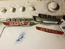 Original 1961-1966 FORD F100 Truck Side Fender Emblem Trim 63 64 F250