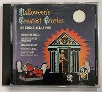 Edgar Allan Poe, Robert J. Walsh – Halloween's Greatest Stories CD 1994 K-Tel