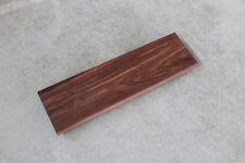 Treppenstufe Nussbaum Massiv Holz Brett Stufe Regalbrett für Treppe NEU Wallnuß