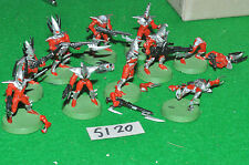 dark eldar kabalite warriors 9 SEE PHOTO (5120) warhammer