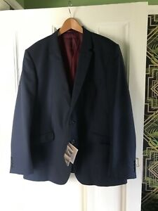 Mens new with tags FA Suit Jacket and Trousers size XXL dark blue