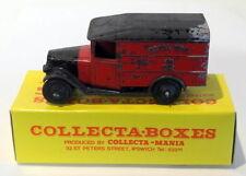 Vintage Dinky 34B - Postal Van Royal Mail - Red Black Tyres