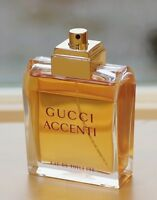 RARE Vintage ** ACCENTI by GUCCI ** spray LARGE EDT 100 ml~3.4 oz DISCONTINUED