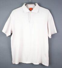 Hugo Boss Hombre Camiseta Polo CZ963 Trooper Etiqueta Naranja Talla XL