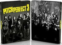 Pitch Perfect 3 (4K Ultra HD, Blu-ray, Exclusive Steelbook Edition) NO DIGITAL
