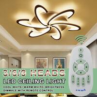 Modern LED Ceiling Light For Living Dining Room Bedroom Lustres Chandelier Lamp