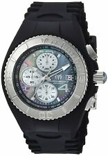 Technomarine TM-115349 Cruise Men's 46mm JellyFish Chronograph MOP Rubber Watch