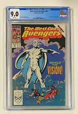 WEST COAST AVENGERS #45 Marvel Comics 1989 CGC 9.0 Avengers #57 Cover Homage