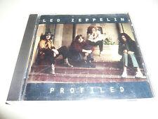 LED ZEPPELIN Profiled Rare Promo 1990 CD Promotional