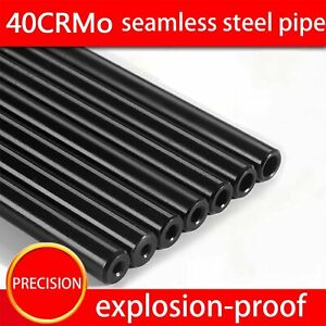 Seamless steel Pipe OD 16 Mm Hydraulic Alloy Steel Tubes Precision No Rifling