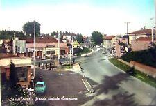 CASTELLANZA Strada statale Sempione Varese 1963 con benzina Shell, OIL