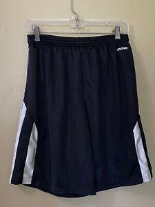 BRINE REIGN ON Black Lacrosse Athletic Sports Drawstring Shorts Adult size S