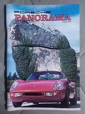 1984 AUGUST PORSCHE PANORAMA MAGAZINE CARRERA 911 928 944 924 356 TURBO