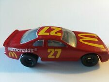 1993 Hot Wheels MCDONALDS THUNDERBIRD #27 NASCAR Racecar Red Ford