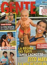 Gente 2018 35.Tania Cagnotto,Madonna,Leonardo DiCaprio,Monica Bellucci