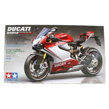 Tamiya Ducati 1199 Panigale S Tricolore Bike Model Kit (Scale 1:12) 14132 NEW