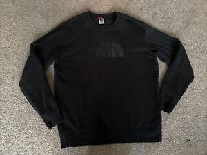 The North Face Mens Designer Black Jumper Size XL